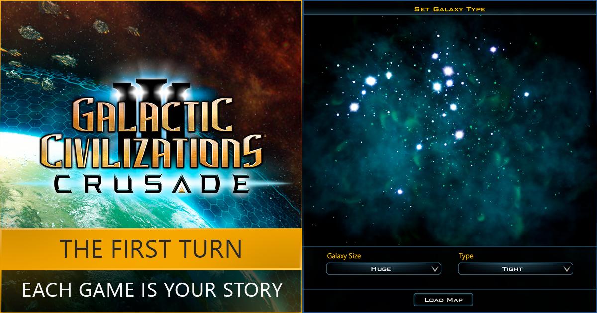 Galactic Civilizations III: Crusade - The First Turn